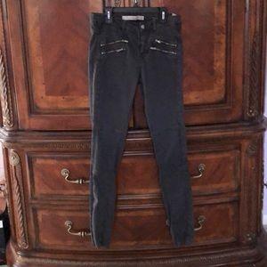 Zara jeans with zipper detail